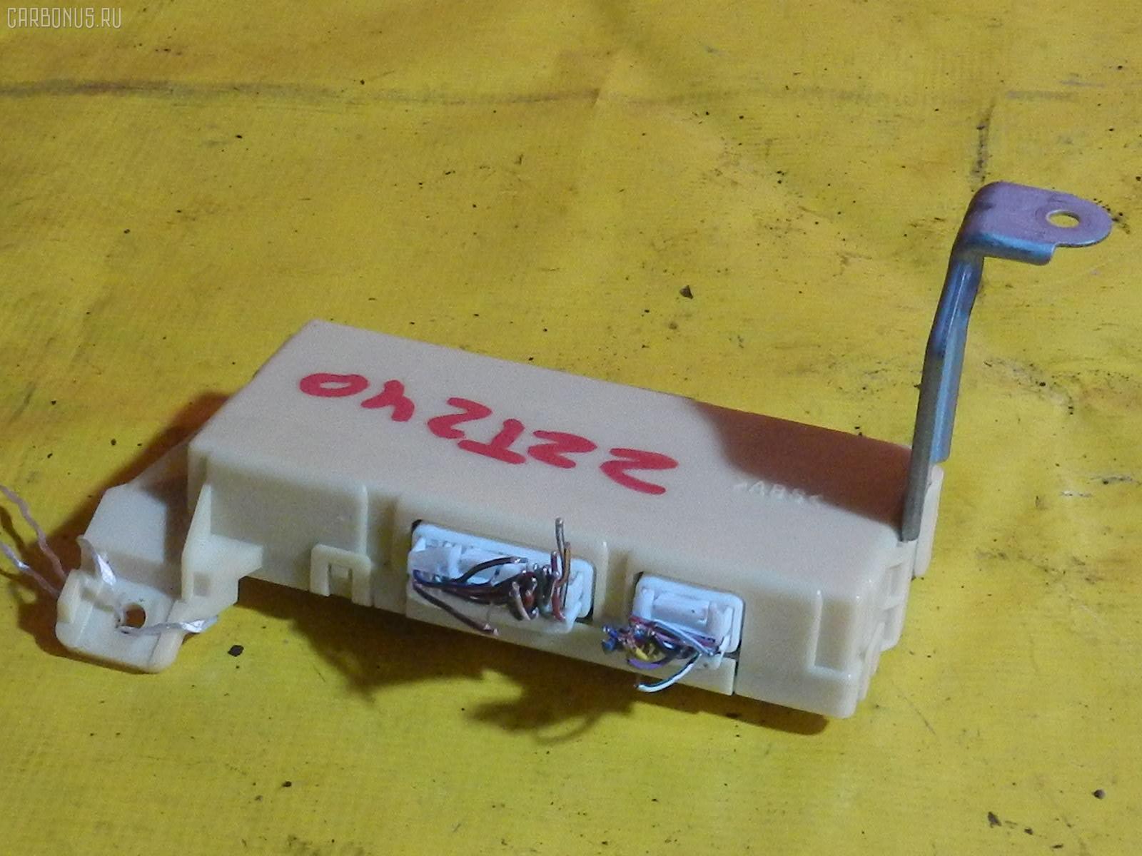 Блок упр-я TOYOTA ALLION ZZT240 1ZZ-FE Фото 3