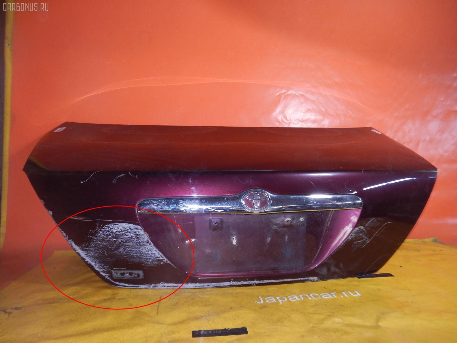Крышка багажника TOYOTA MARK II JZX110 Фото 1