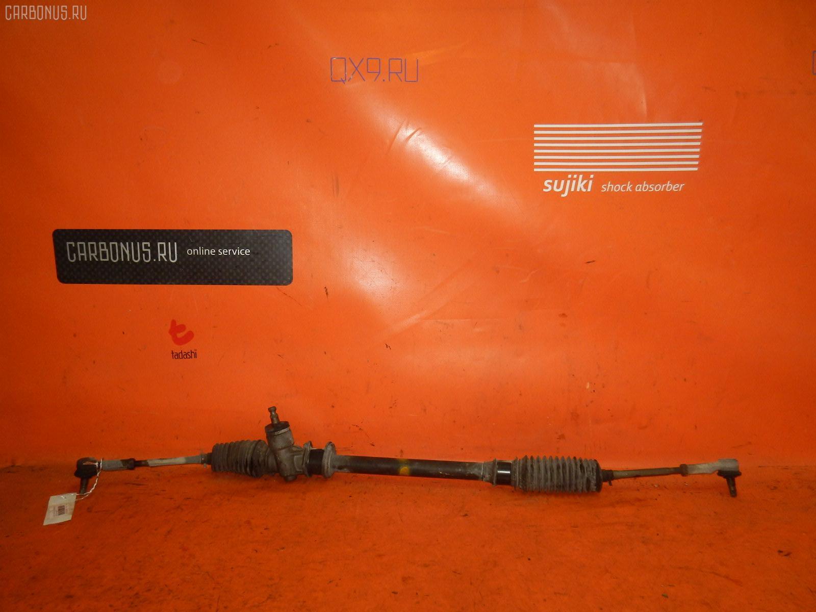 Рулевая рейка SUZUKI WAGON R MC22S K6A. Фото 2