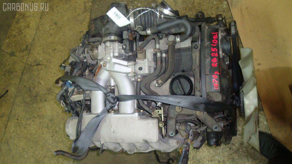 Двигатель NISSAN STAGEA WGNC34 RB25DE. Фото 1