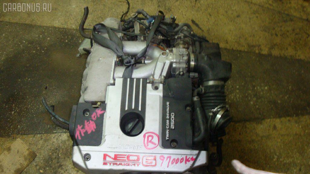 Двигатель NISSAN STAGEA WGNC34 RB25DE. Фото 7