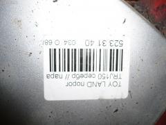 Порог кузова пластиковый ( обвес ) Toyota Land cruiser prado TRJ150W Фото 6