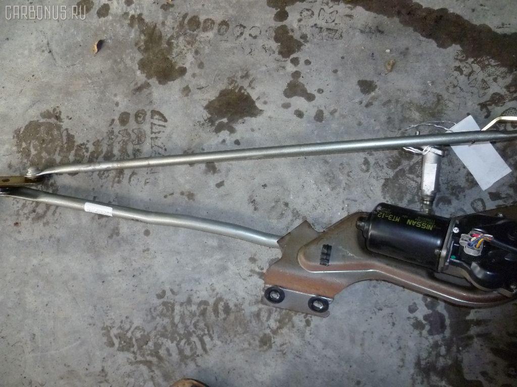Мотор привода дворников ISUZU ELF P6F23 Фото 2