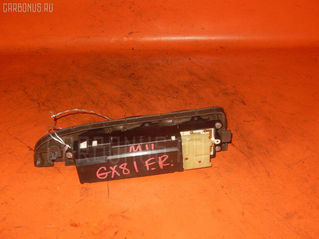Блок упр-я стеклоподъемниками TOYOTA MARK II GX81. Фото 2