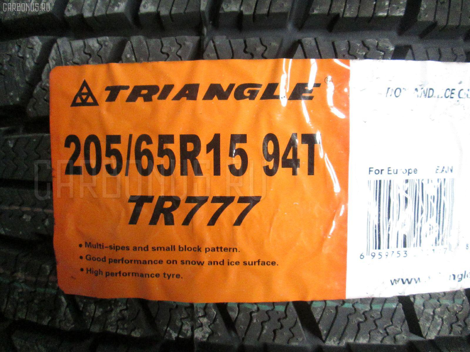 Автошина легковая зимняя TR777 205/65R15 TRIANGLE Фото 1