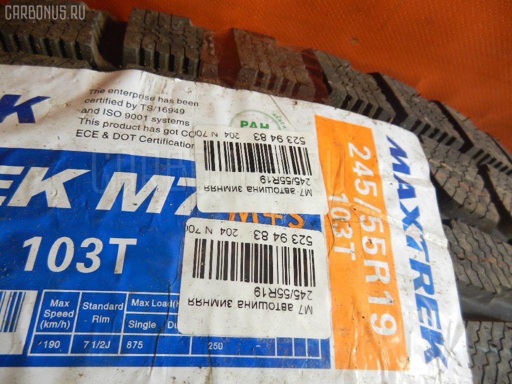 Автошина легковая зимняя M7 245/55R19 MAXTREK Фото 3