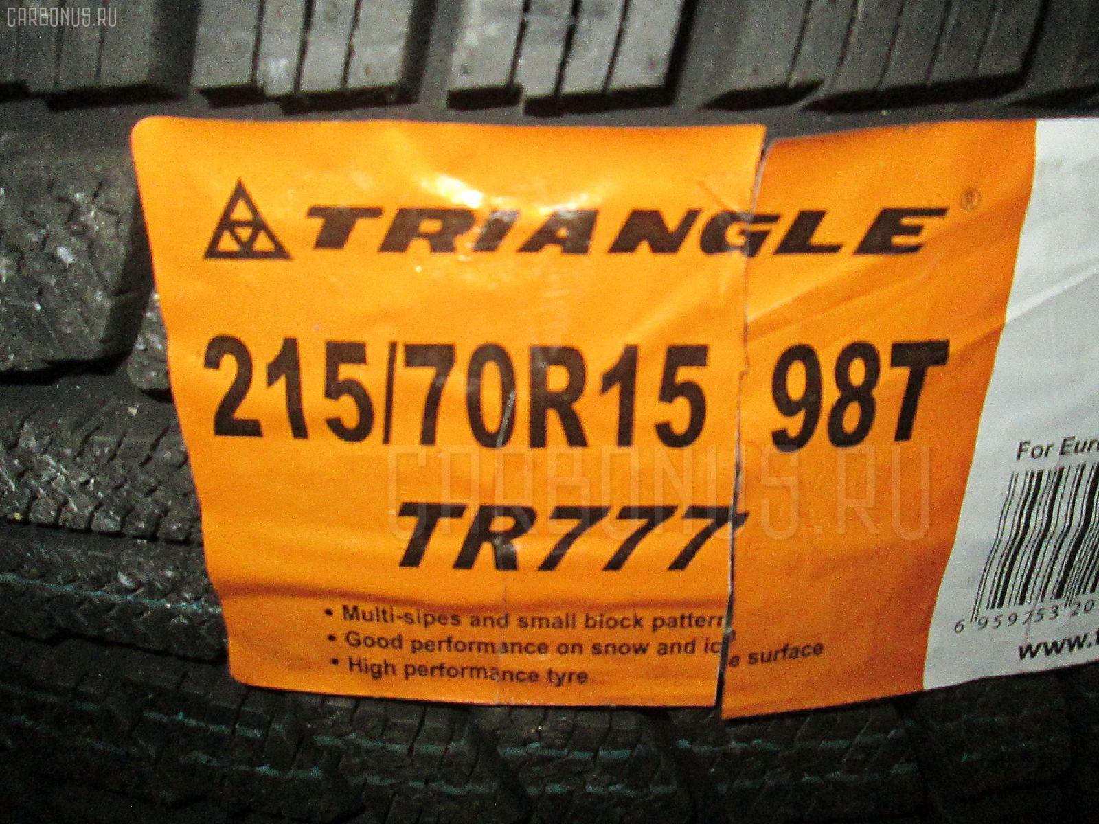 Автошина легковая зимняя TR777 215/70R15 TRIANGLE Фото 1