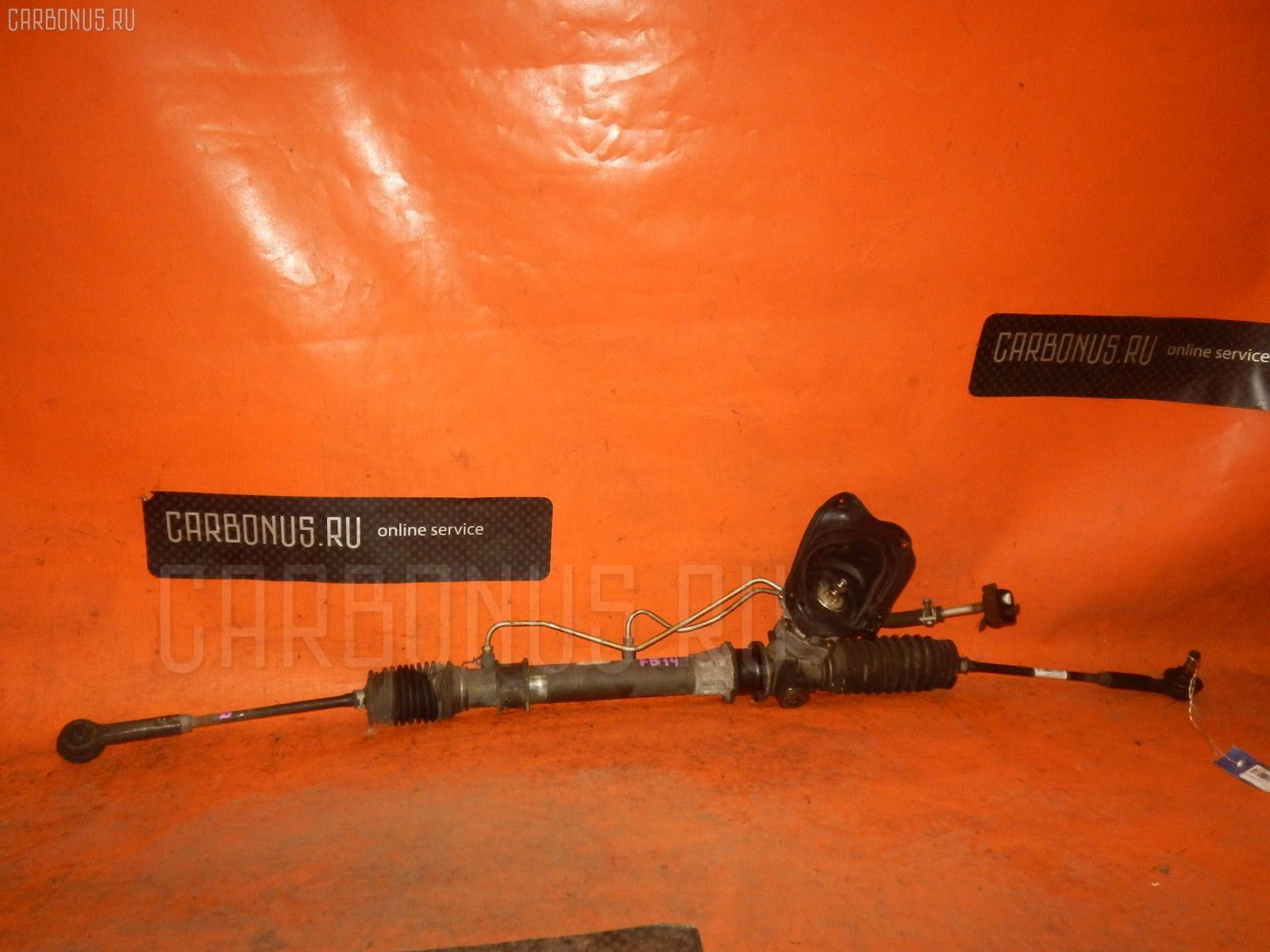 Рулевая рейка NISSAN SUNNY FB14 GA15DE. Фото 4