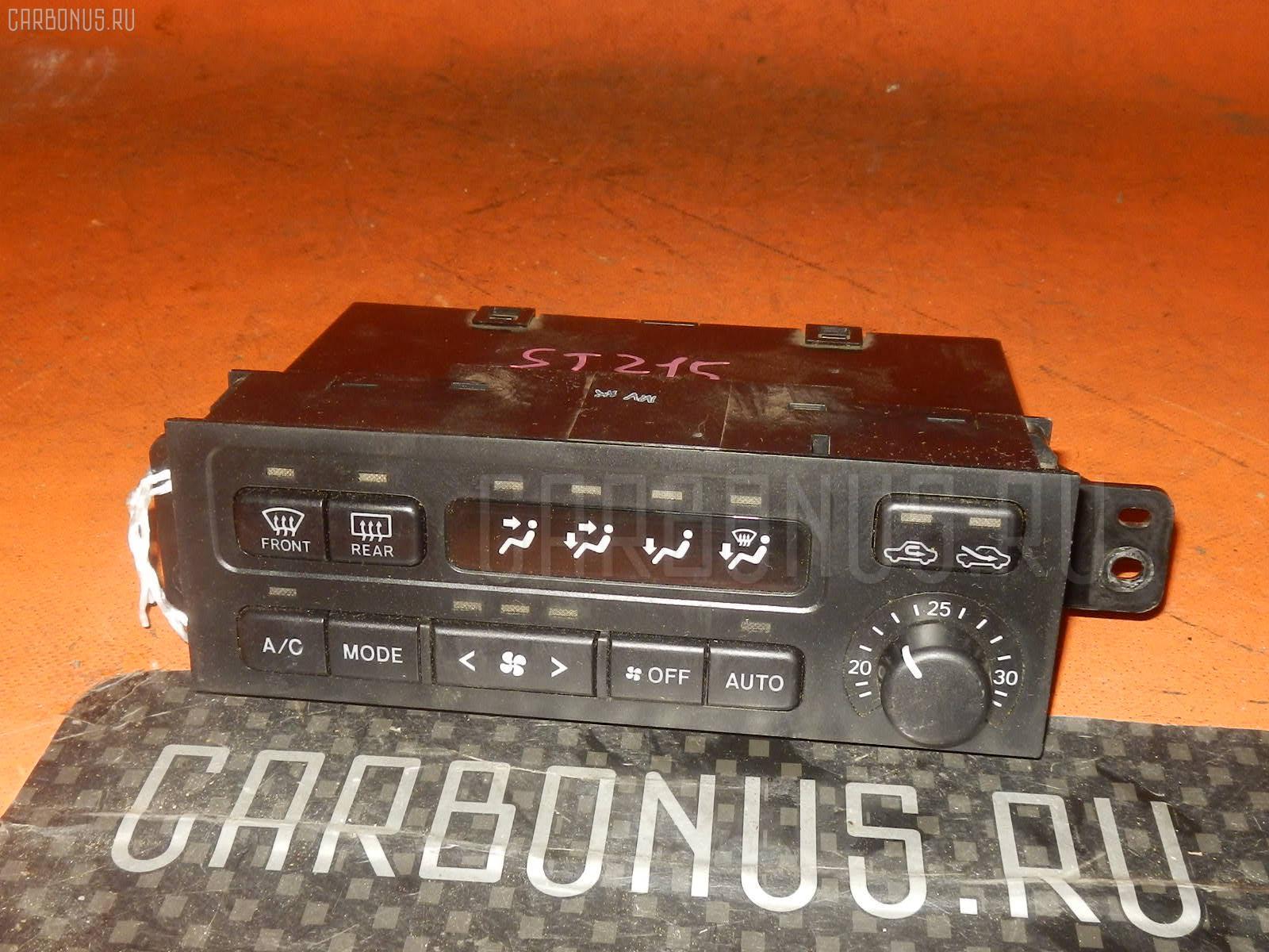 Блок управления климатконтроля Toyota Corona premio ST215 3S-FE Фото 1