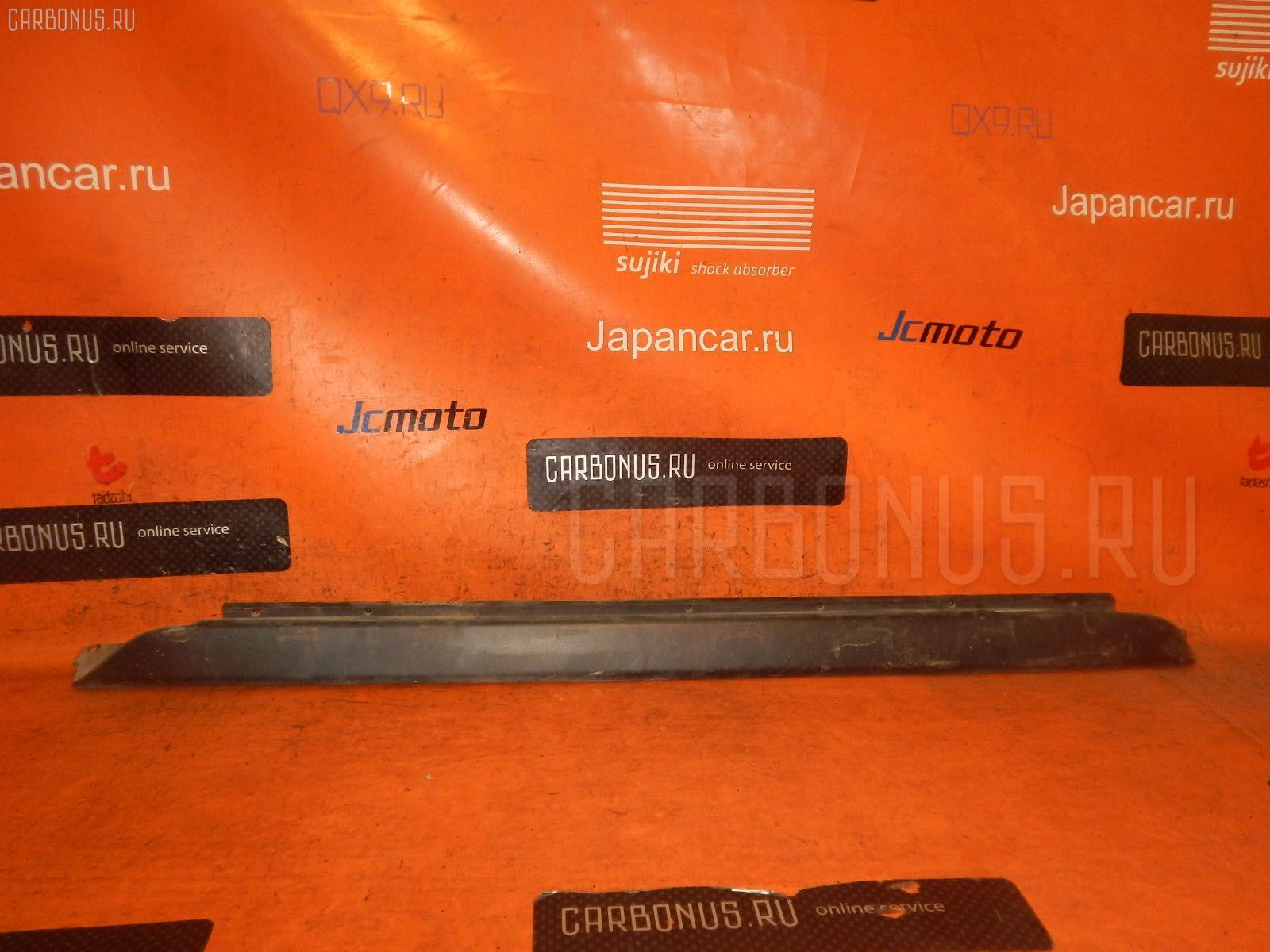 Порог кузова пластиковый ( обвес ) TOYOTA IST NCP60 Фото 3