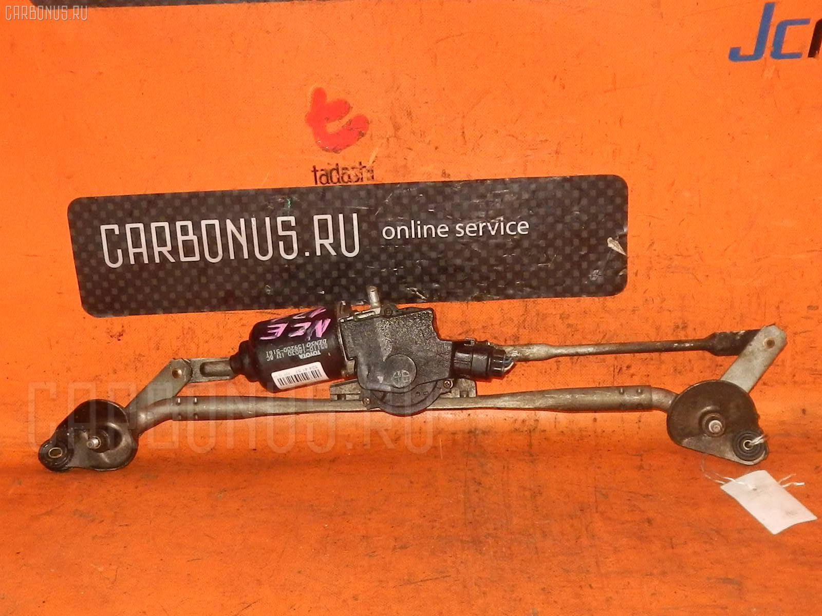 Мотор привода дворников TOYOTA COROLLA NZE121. Фото 2