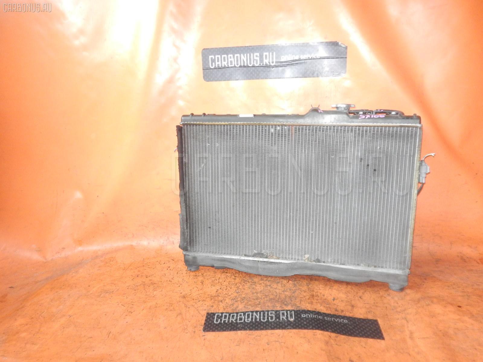 Радиатор ДВС TOYOTA CHASER SX100 4S-FE. Фото 1