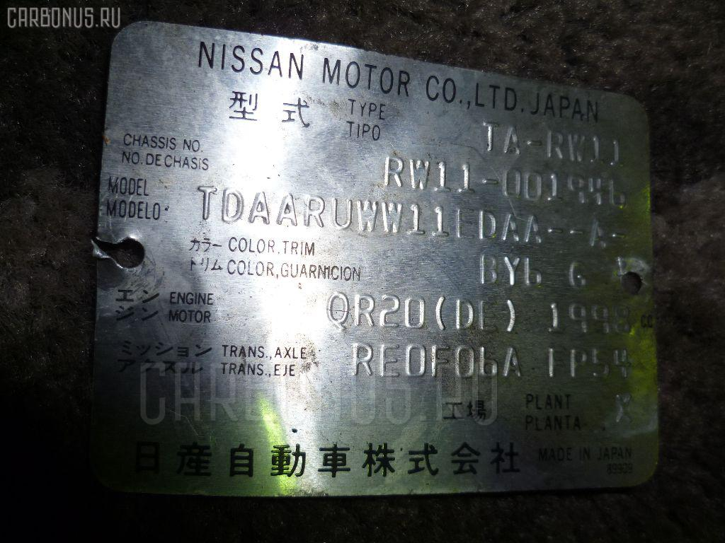 Двигатель NISSAN AVENIR RW11 QR20DE. Фото 7
