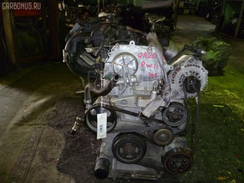 Двигатель NISSAN AVENIR RW11 QR20DE. Фото 8