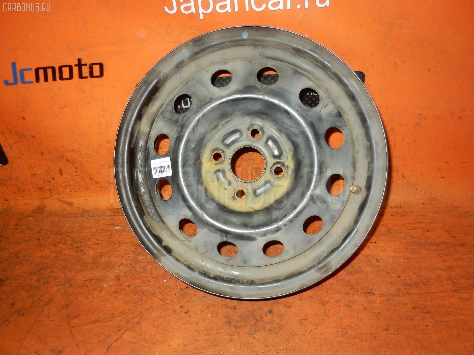 Диск штампованный R15 / 4-100 / 5.5JJ Фото 1