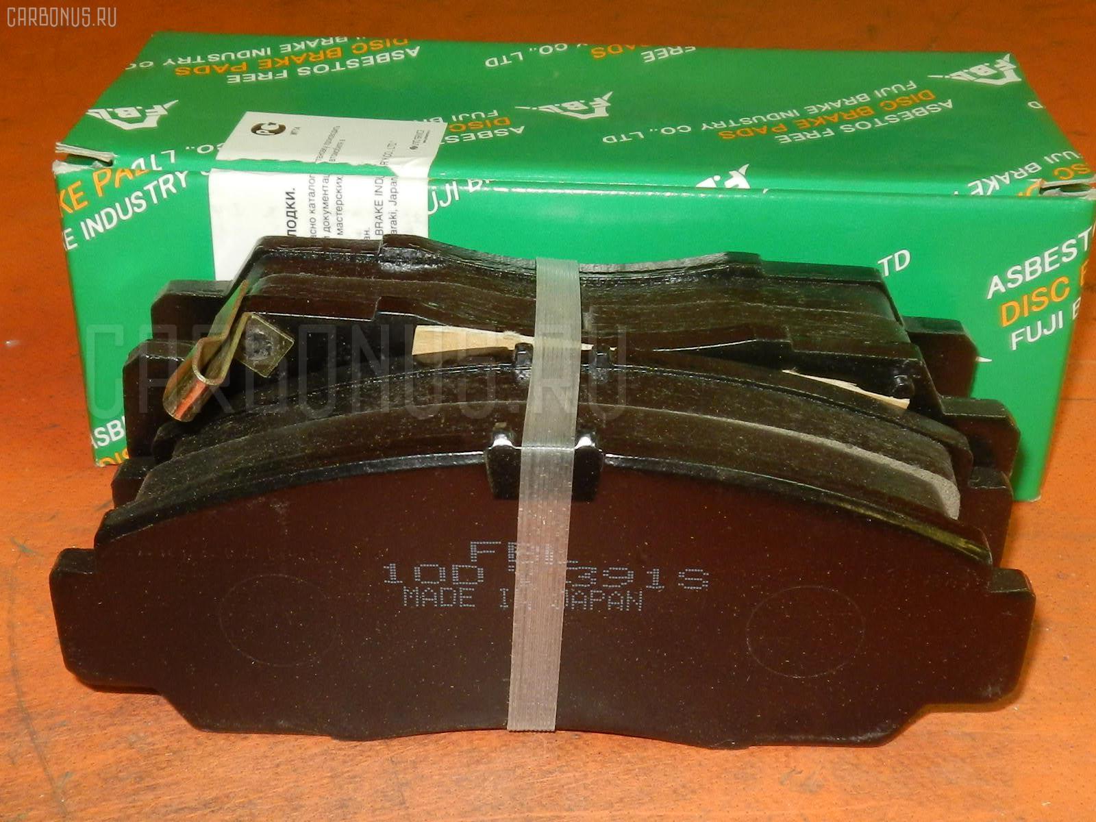 Тормозные колодки HONDA ACCORD CL9 Фото 1