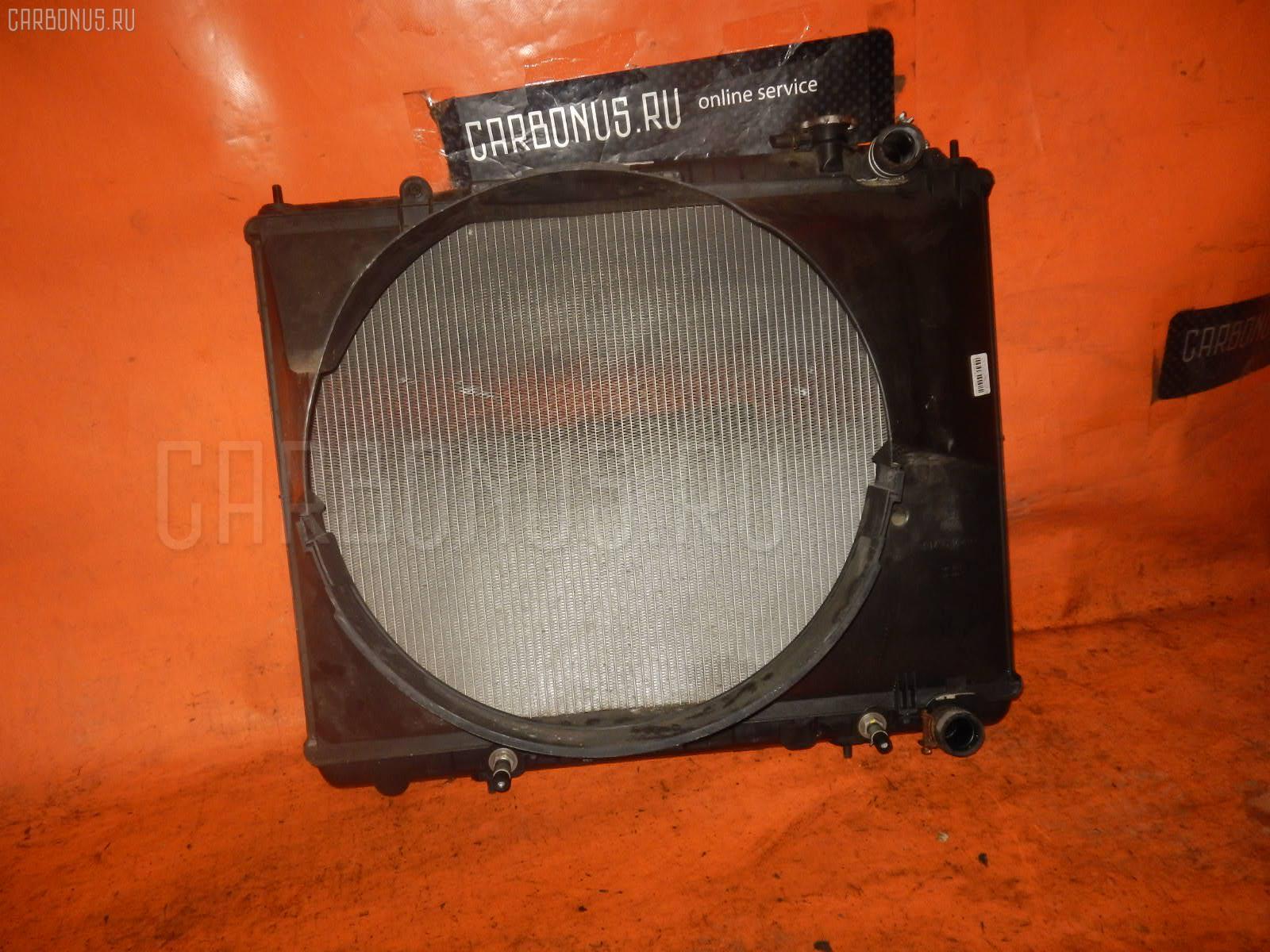 Радиатор ДВС NISSAN ELGRAND ALWE50 VG33E. Фото 10