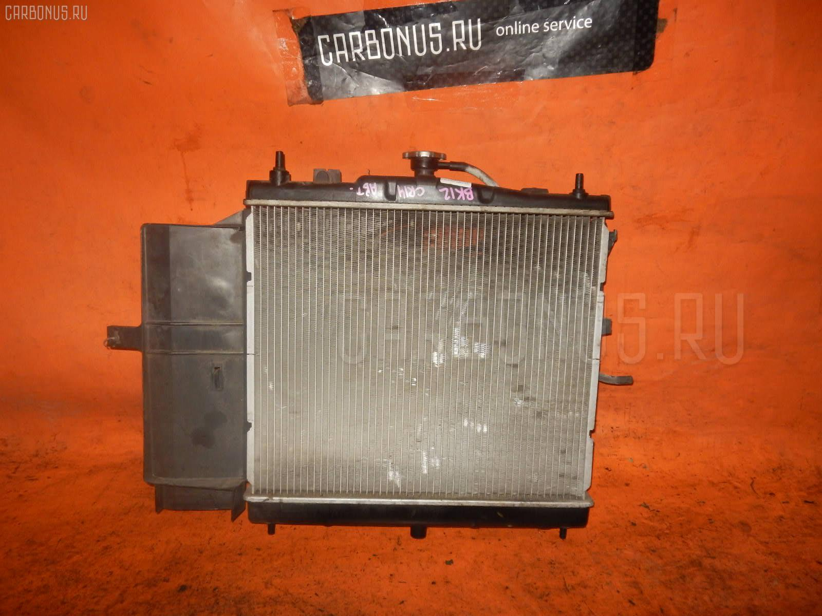 Радиатор ДВС NISSAN MARCH BK12 CR14DE. Фото 2