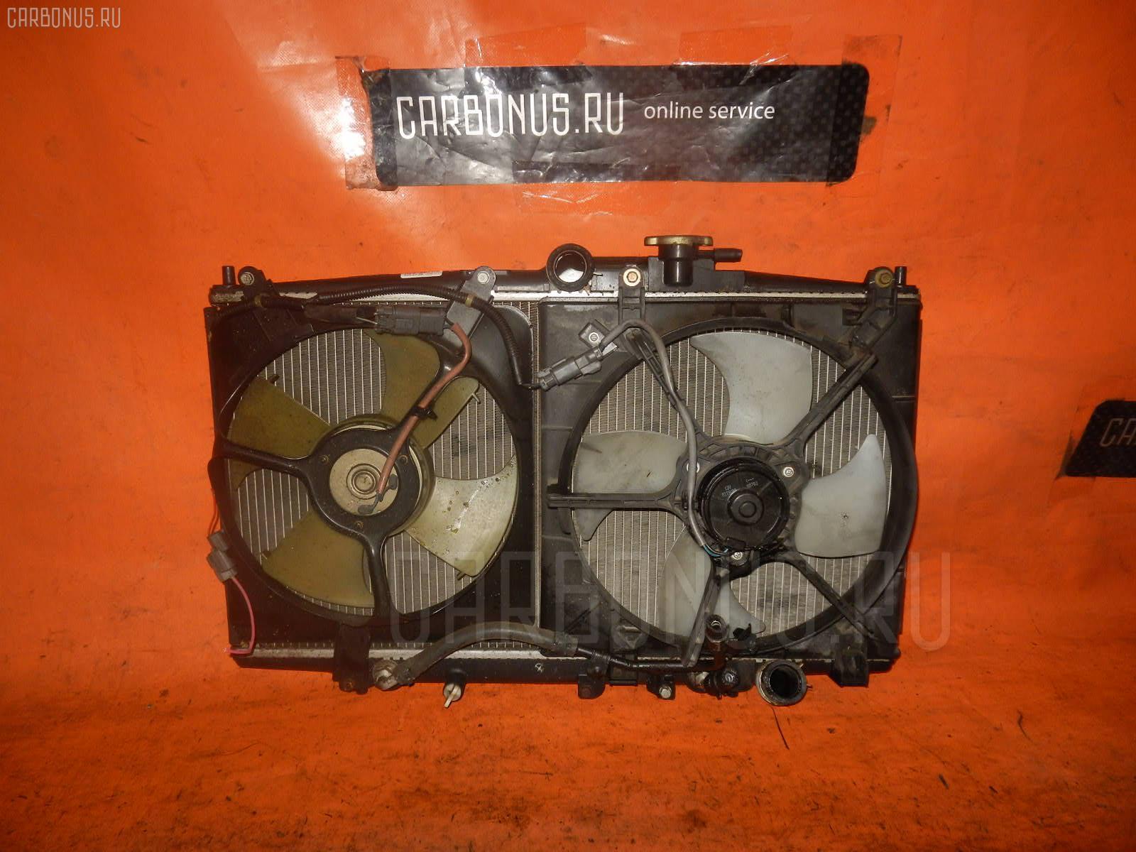 Радиатор ДВС HONDA ACCORD CF6 F23A. Фото 2