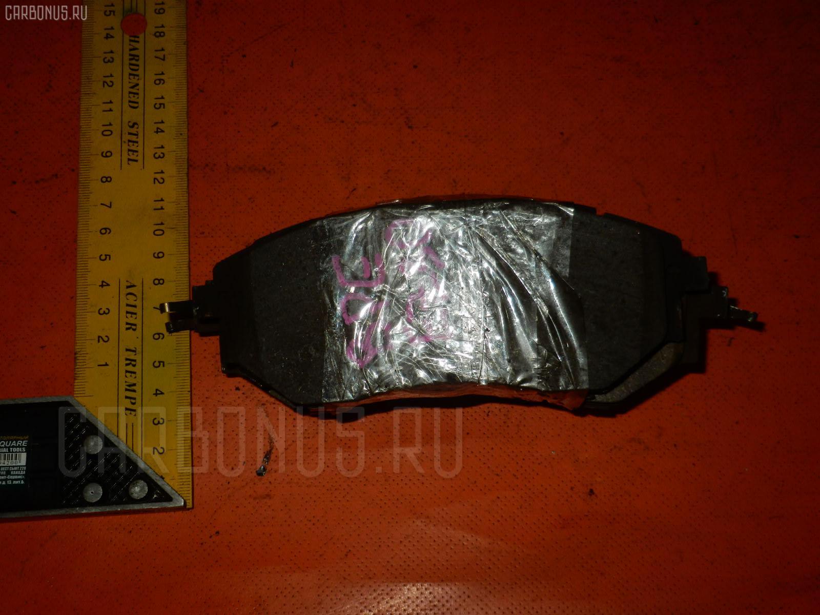 Тормозные колодки SUBARU LEGACY BPE EZ30 Фото 1