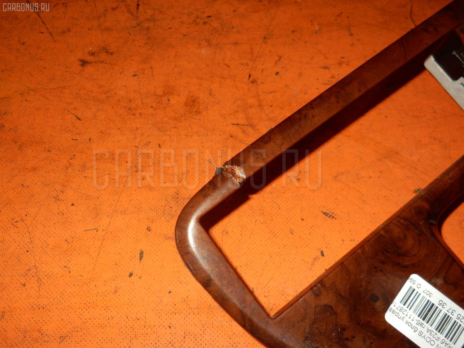 Блок управления климатконтроля HONDA ODYSSEY RA6 F23A Фото 3