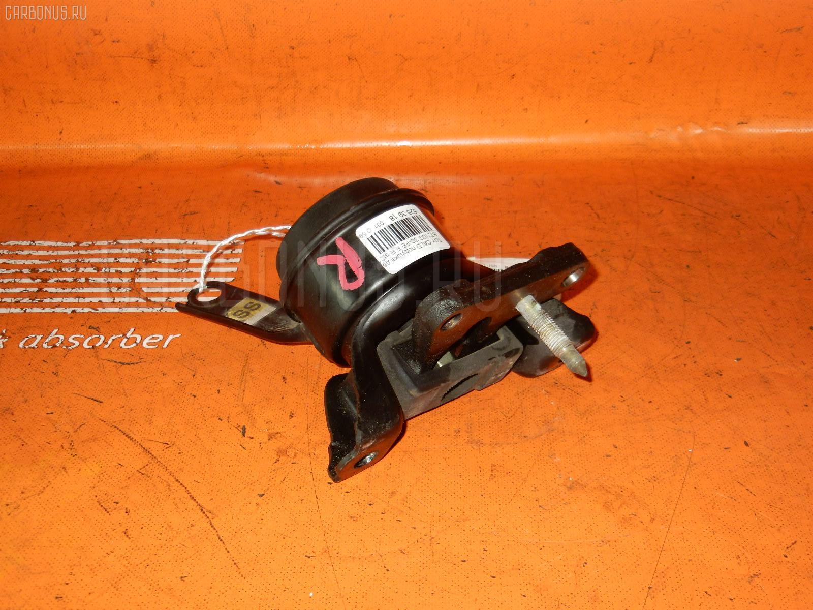 Подушка двигателя TOYOTA CALDINA ST210G 3S-FE. Фото 8