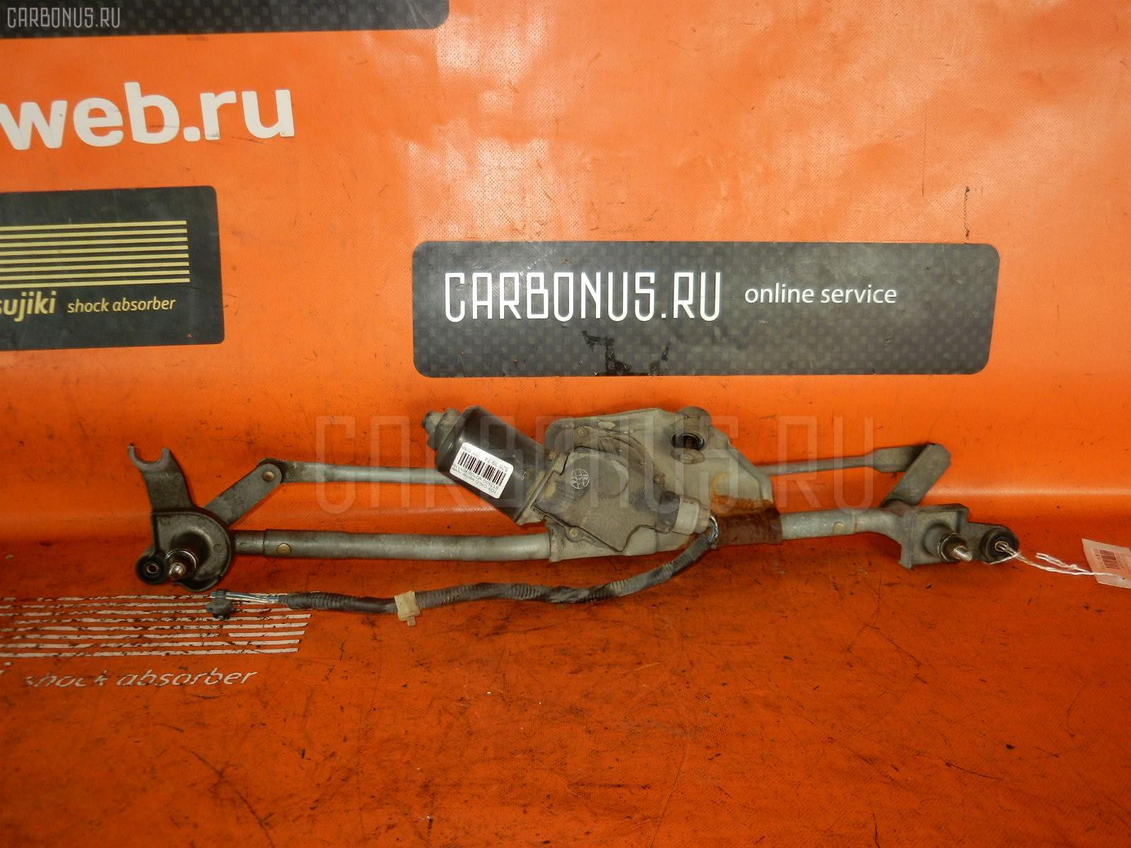 Мотор привода дворников TOYOTA CALDINA ST210G. Фото 4