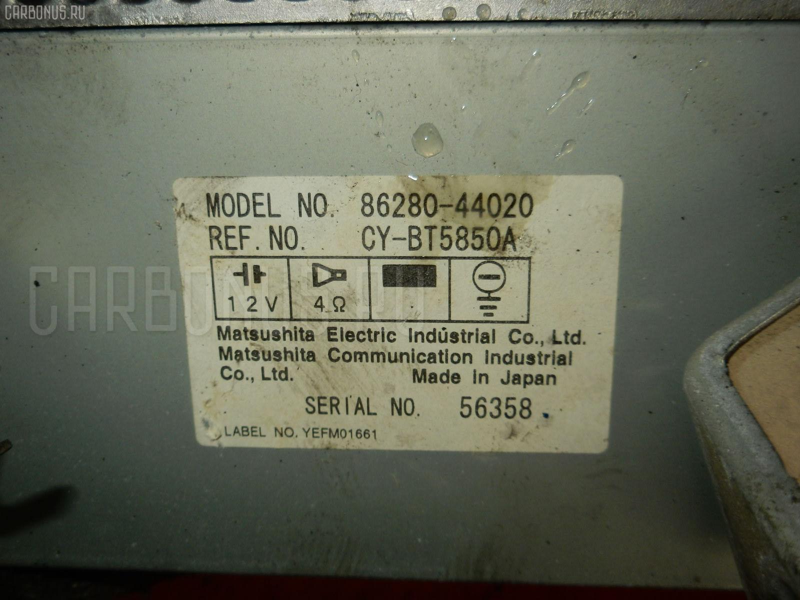 Автомагнитофон Toyota Ipsum SXM10G Фото 1