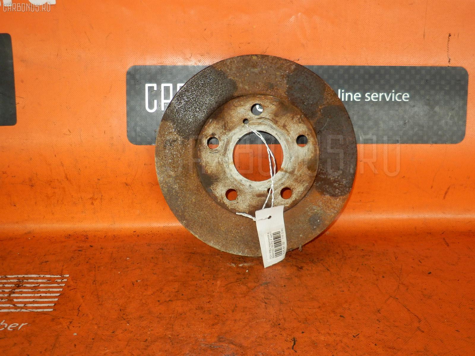 Тормозной диск TOYOTA IPSUM SXM10G. Фото 7