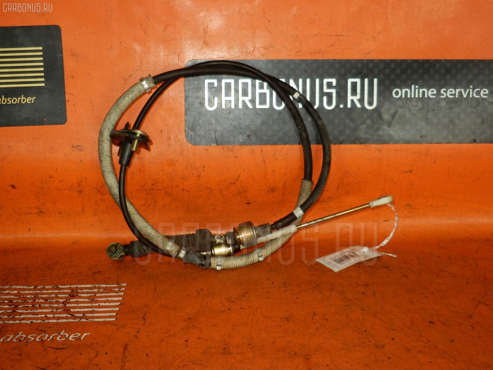 Тросик на коробку передач TOYOTA GAIA SXM15G 3S-FE. Фото 7