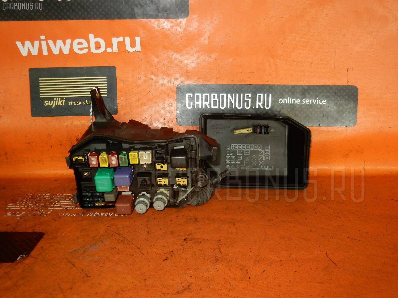 Блок предохранителей TOYOTA CHASER GX90 1G-FE. Фото 4