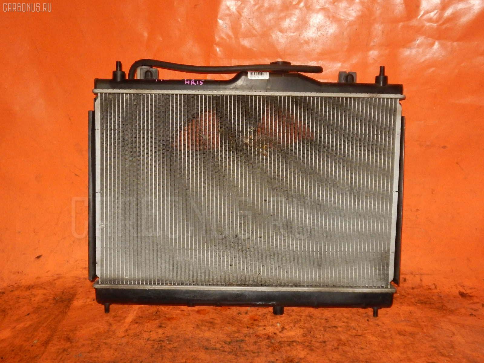 Радиатор ДВС NISSAN AD EXPERT VY12 HR15DE. Фото 8