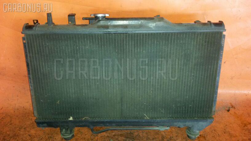 Радиатор ДВС TOYOTA CORONA ST191 3S-FE. Фото 9