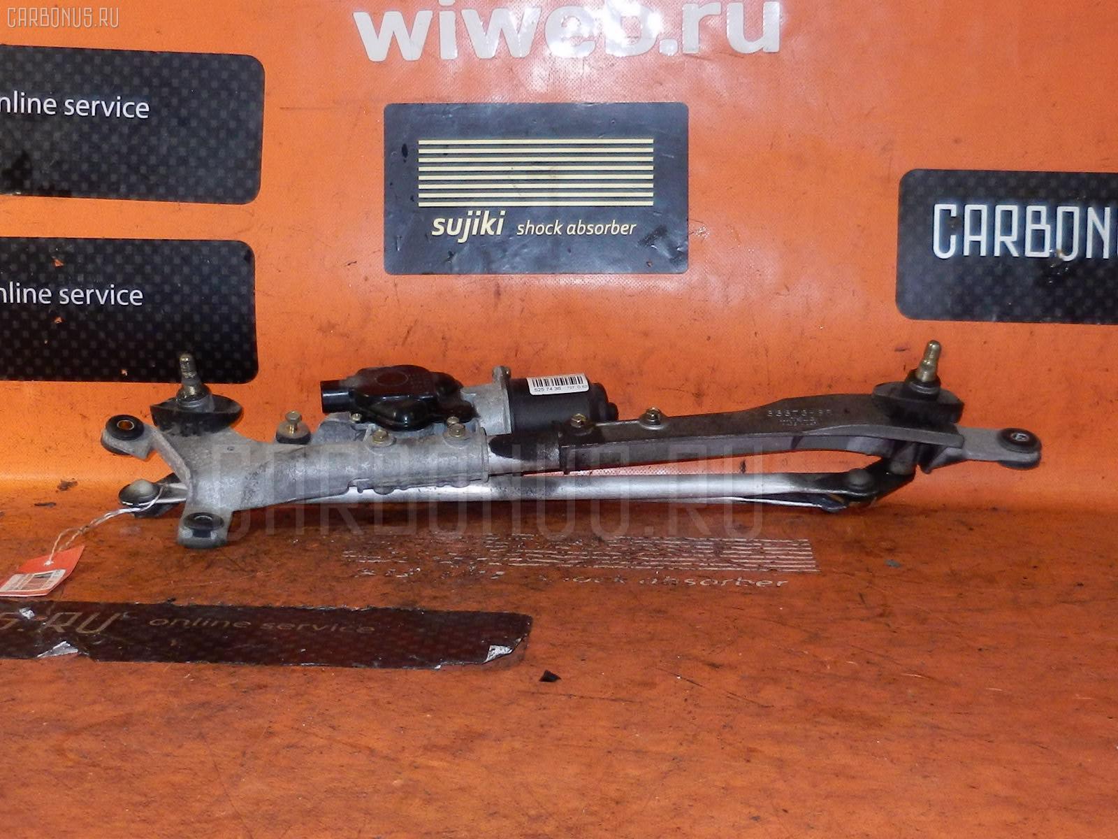 Мотор привода дворников SUBARU LEGACY WAGON BP5. Фото 2