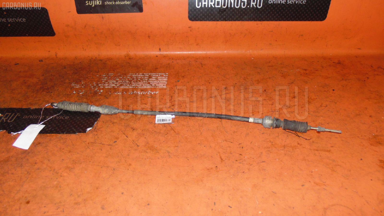 Тросик на коробку передач SUBARU LEGACY WAGON BP5 EJ20-T Фото 1