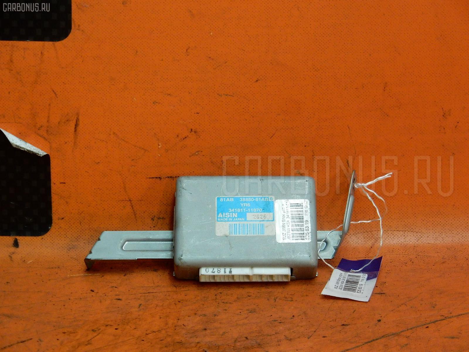 Блок упр-я SUZUKI JIMNY JB23W K6A Фото 1