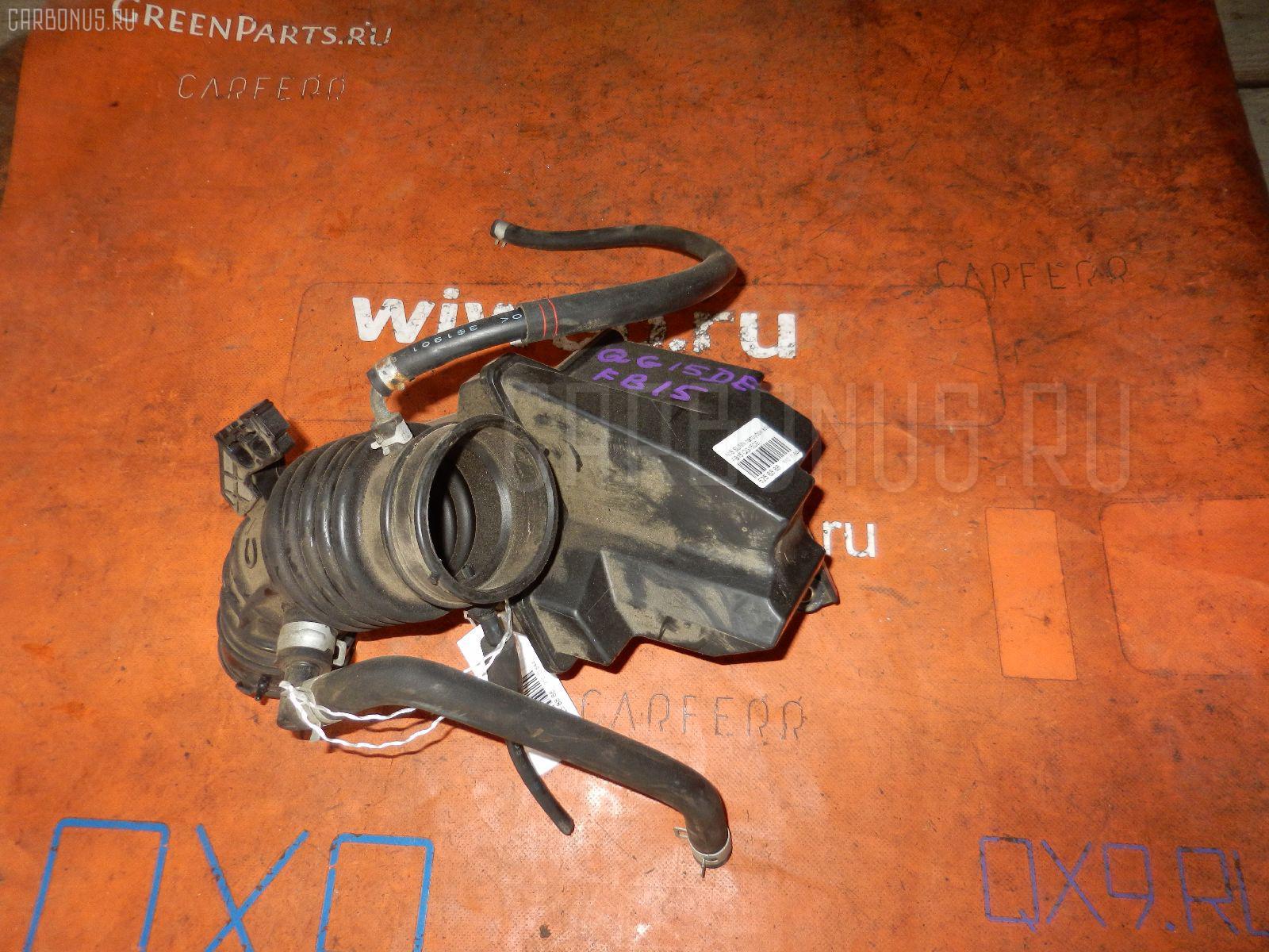 Патрубок воздушн.фильтра NISSAN SUNNY FB15 QG15DE Фото 1