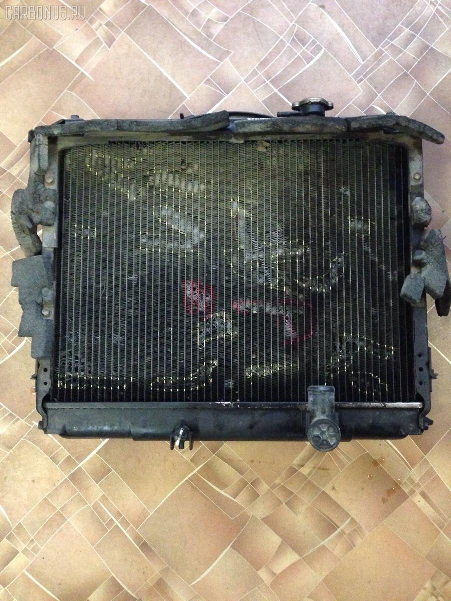 Радиатор ДВС TOYOTA HIACE LY161 3L Фото 4
