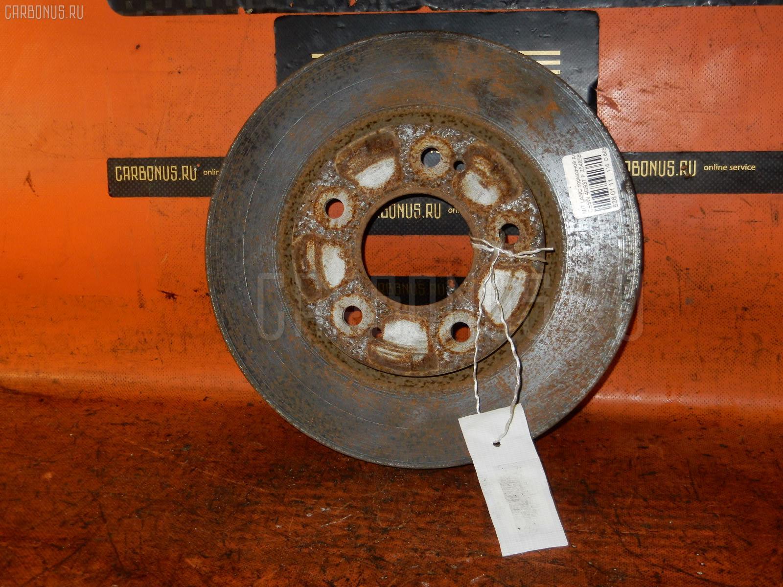 Тормозной диск MITSUBISHI LANCER CEDIA WAGON CS5W 4G93T Фото 1