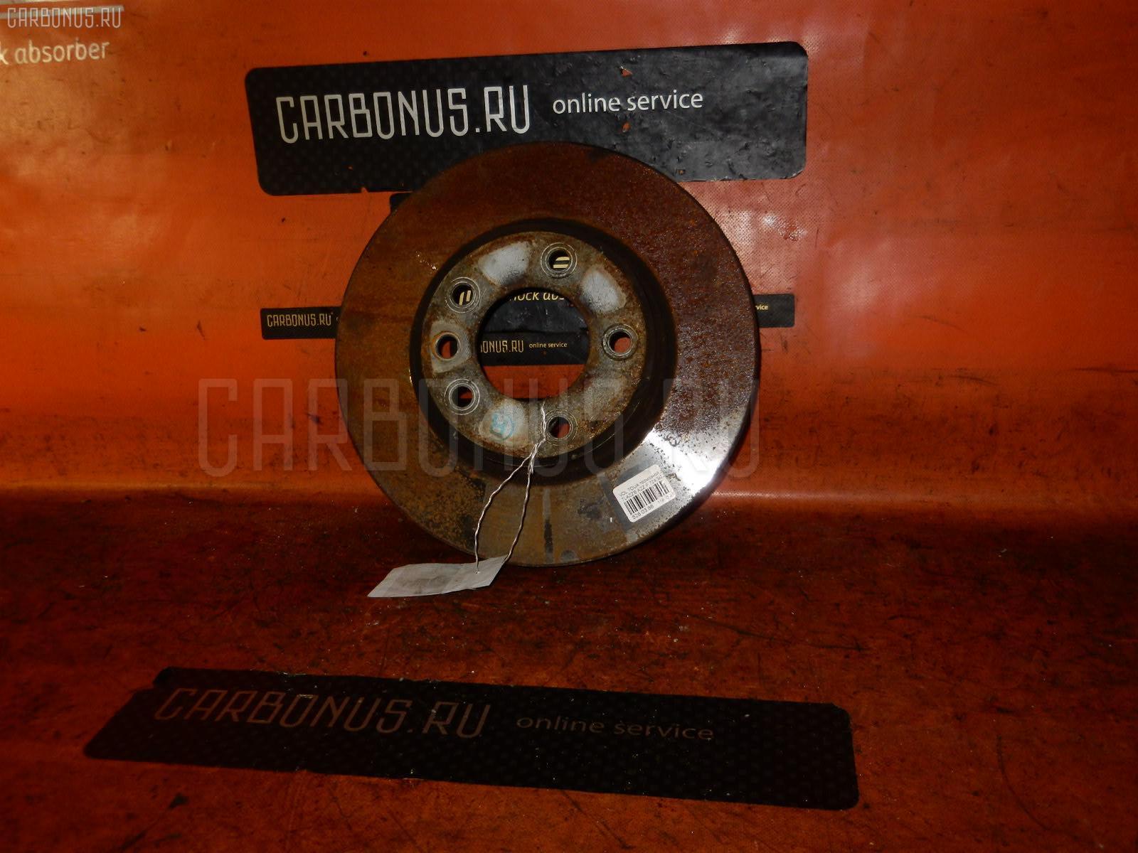 Тормозной диск VOLKSWAGEN TOUAREG 7LAZZS AZZ Фото 1