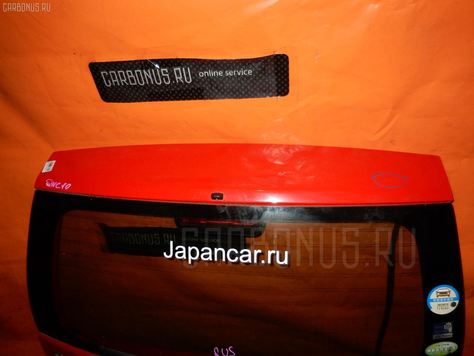 Дверь задняя TOYOTA PASSO QNC10. Фото 10