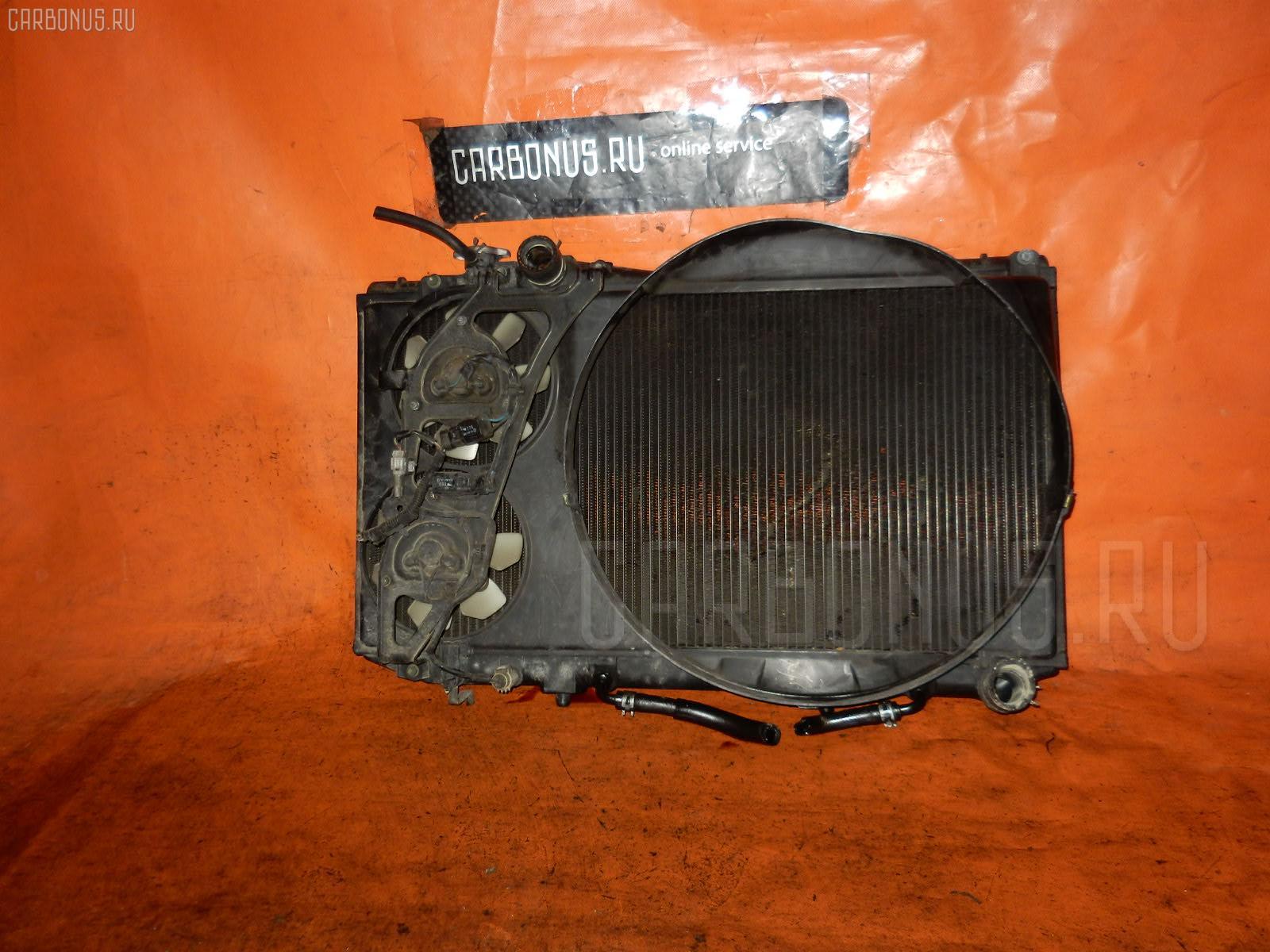 Радиатор ДВС TOYOTA MARK II JZX81 1JZ-GE. Фото 4