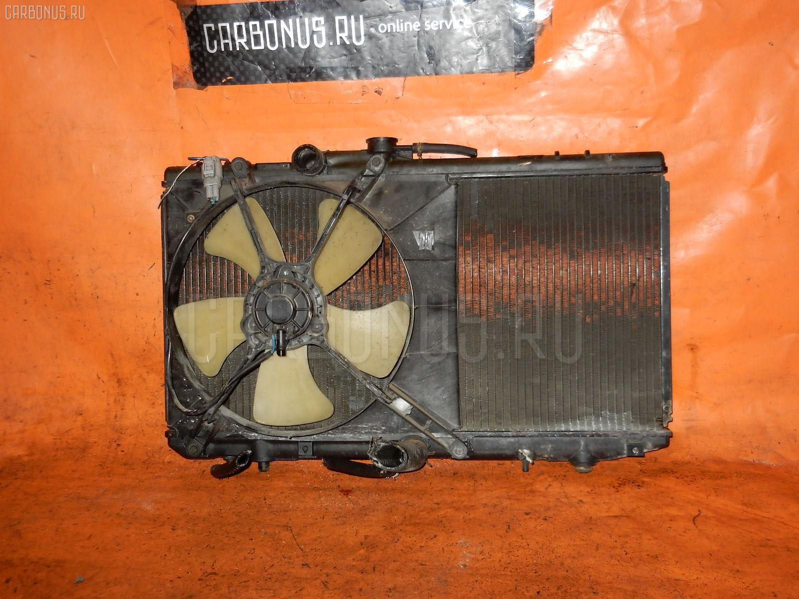 Радиатор ДВС TOYOTA STARLET EP82 4E-FE. Фото 3