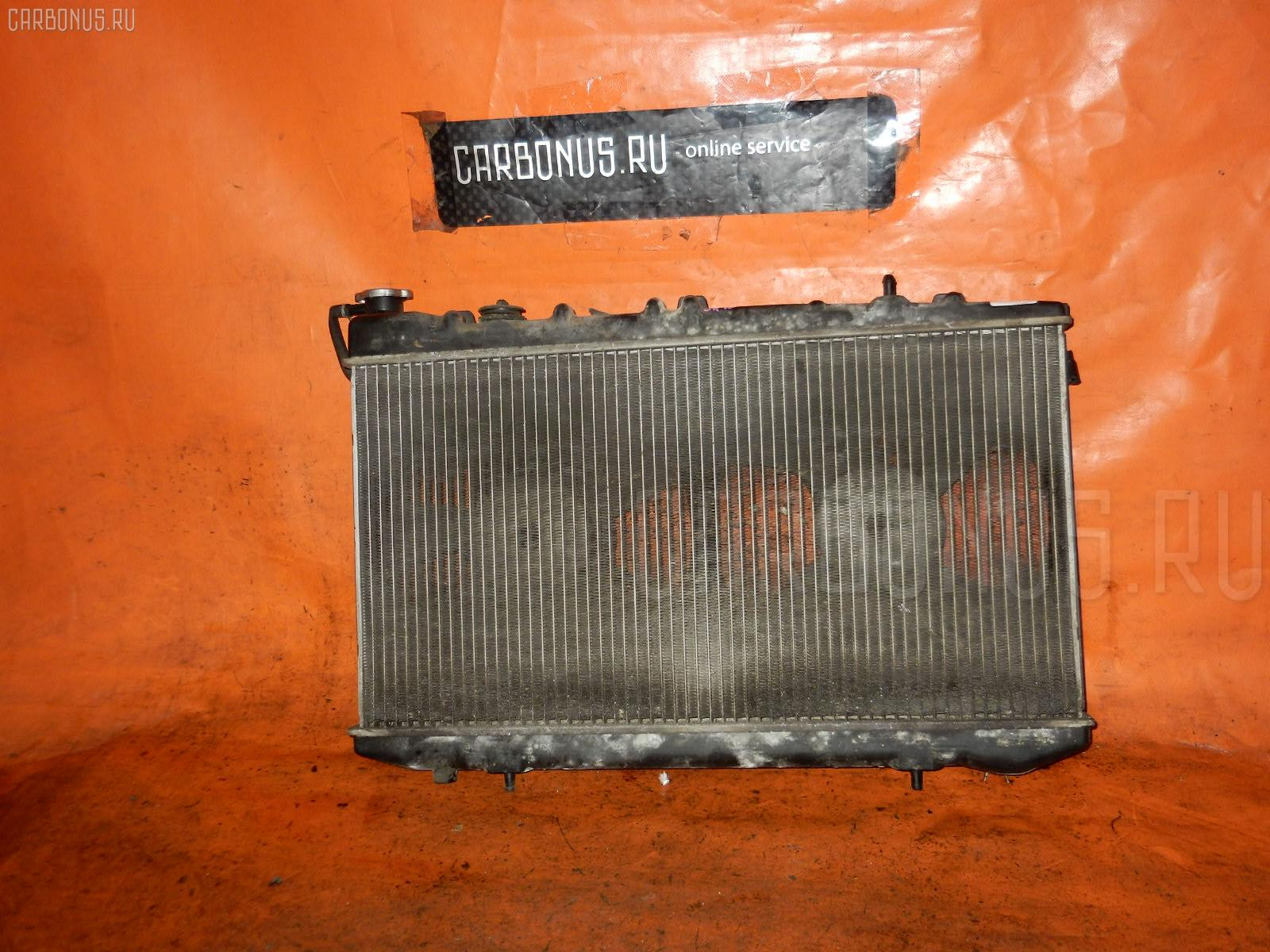Радиатор ДВС NISSAN AVENIR W10 SR18DE. Фото 1