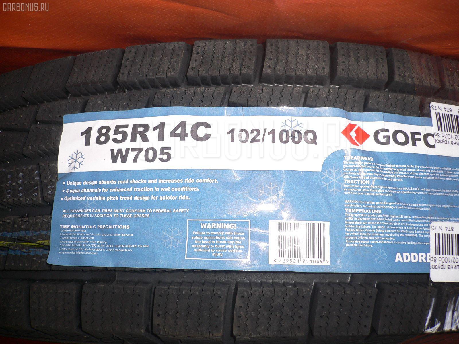 Автошина грузовая зимняя W705 185R14LT GOFORM Фото 1