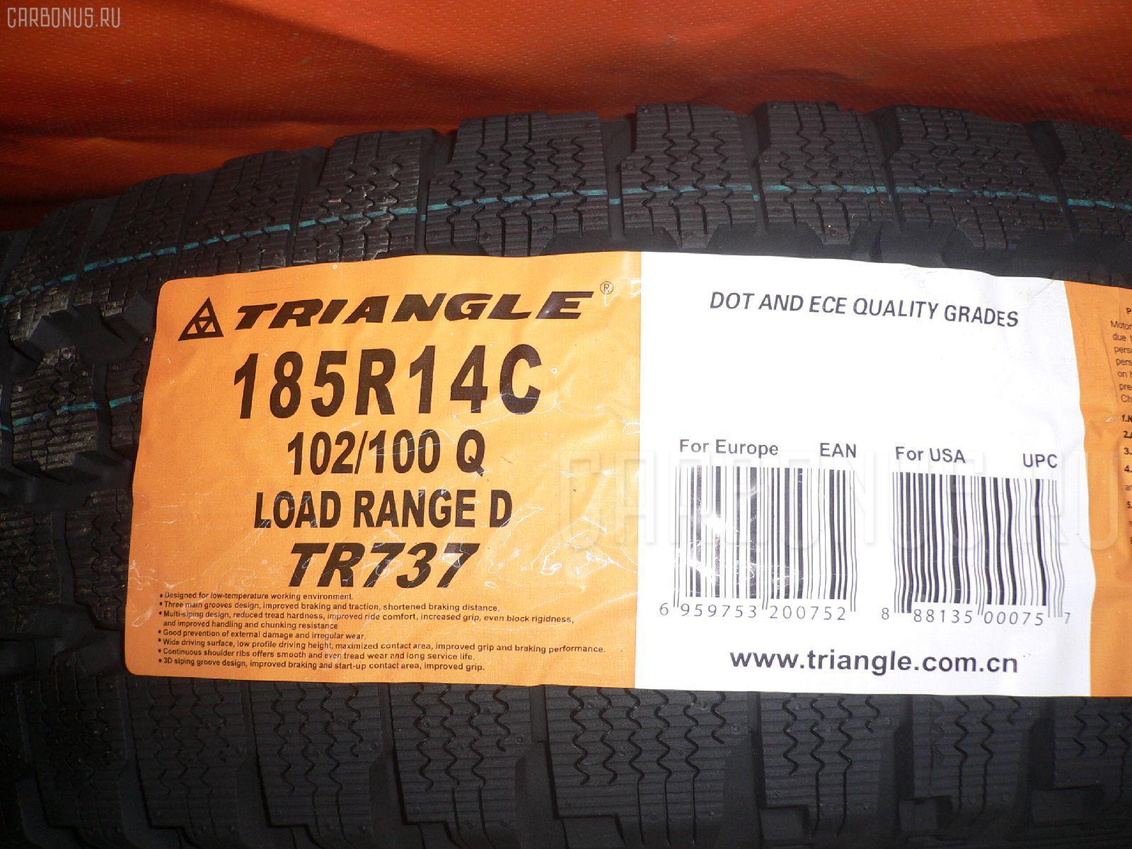 Автошина грузовая зимняя TR737 185R14LT TRIANGLE Фото 1