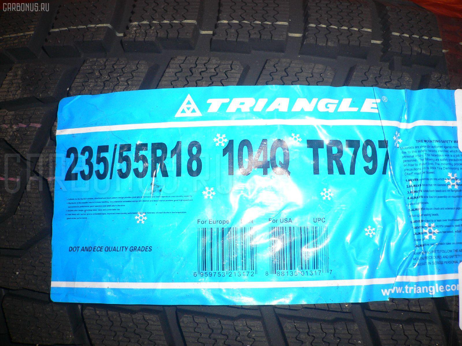 Автошина легковая зимняя TR797 235/55R18. Фото 5