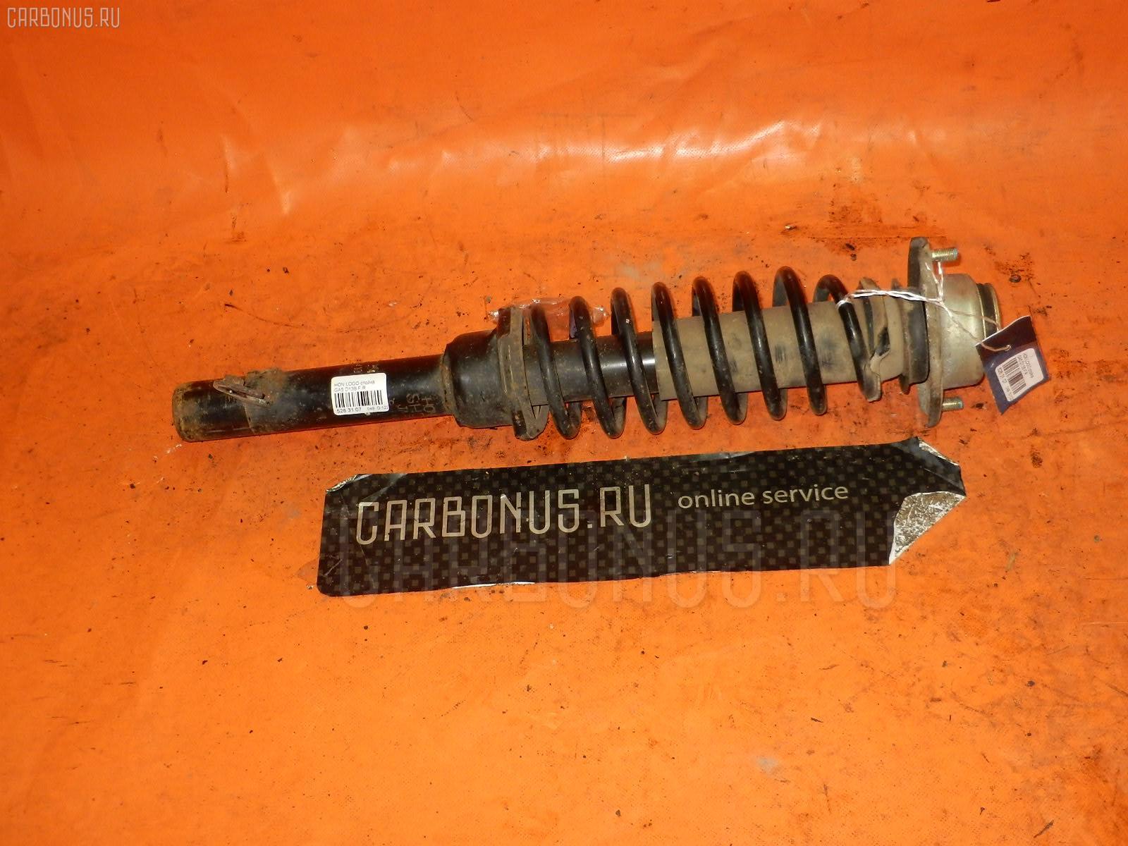 Стойка амортизатора HONDA LOGO GA5 D13B. Фото 2