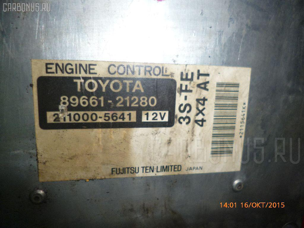 Двигатель TOYOTA CARINA ST215 3S-FE. Фото 6