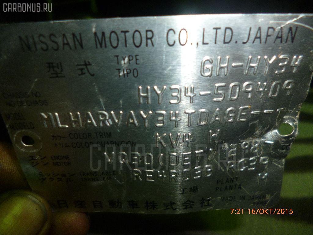Двигатель NISSAN CEDRIC HY34 VQ30DET. Фото 2